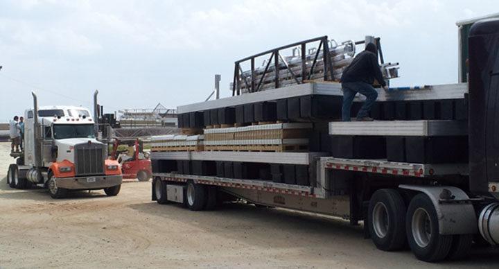 Wahoo Aluminum Cat 5 Dock, Platforms and Gangways Prairie Lake Bound