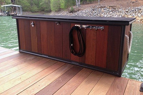 lake dock designs dock specific accessories