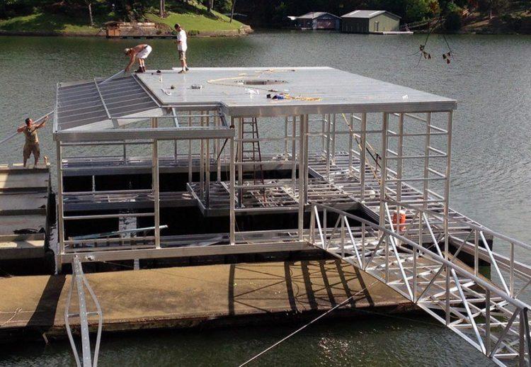 Wahoo Docks - Aluminum Dock Mainframe