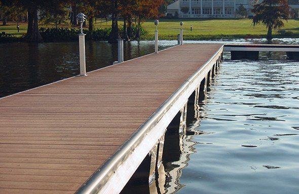 Wahoo Docks - Dock Floatation