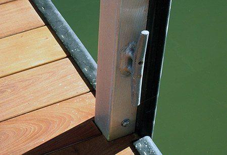 Wahoo Docks Moorings - Cleat