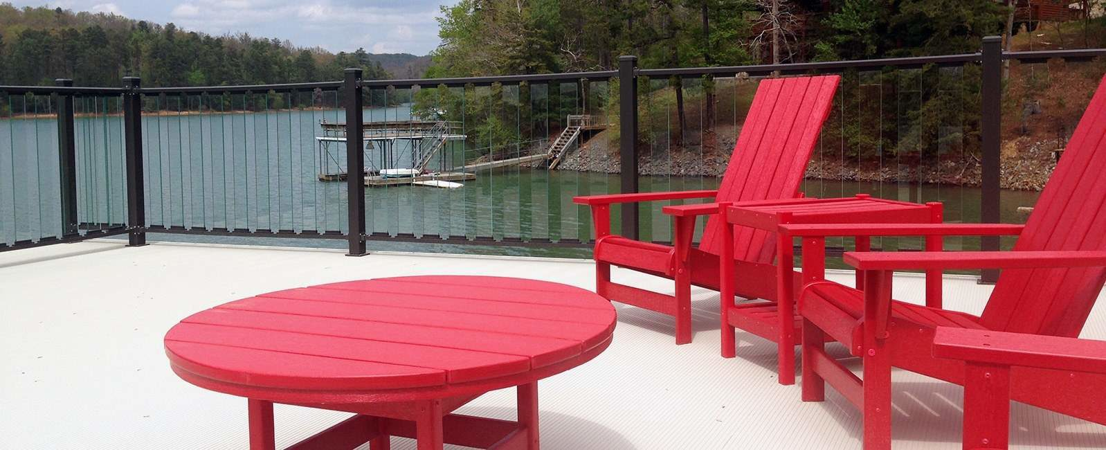 Wahoo Docks Floating Aluminum Docks Decking
