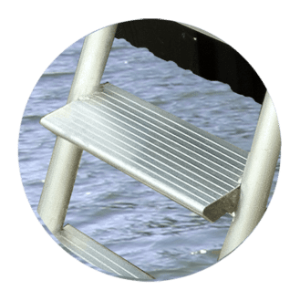 Dock Step Ladder Tread
