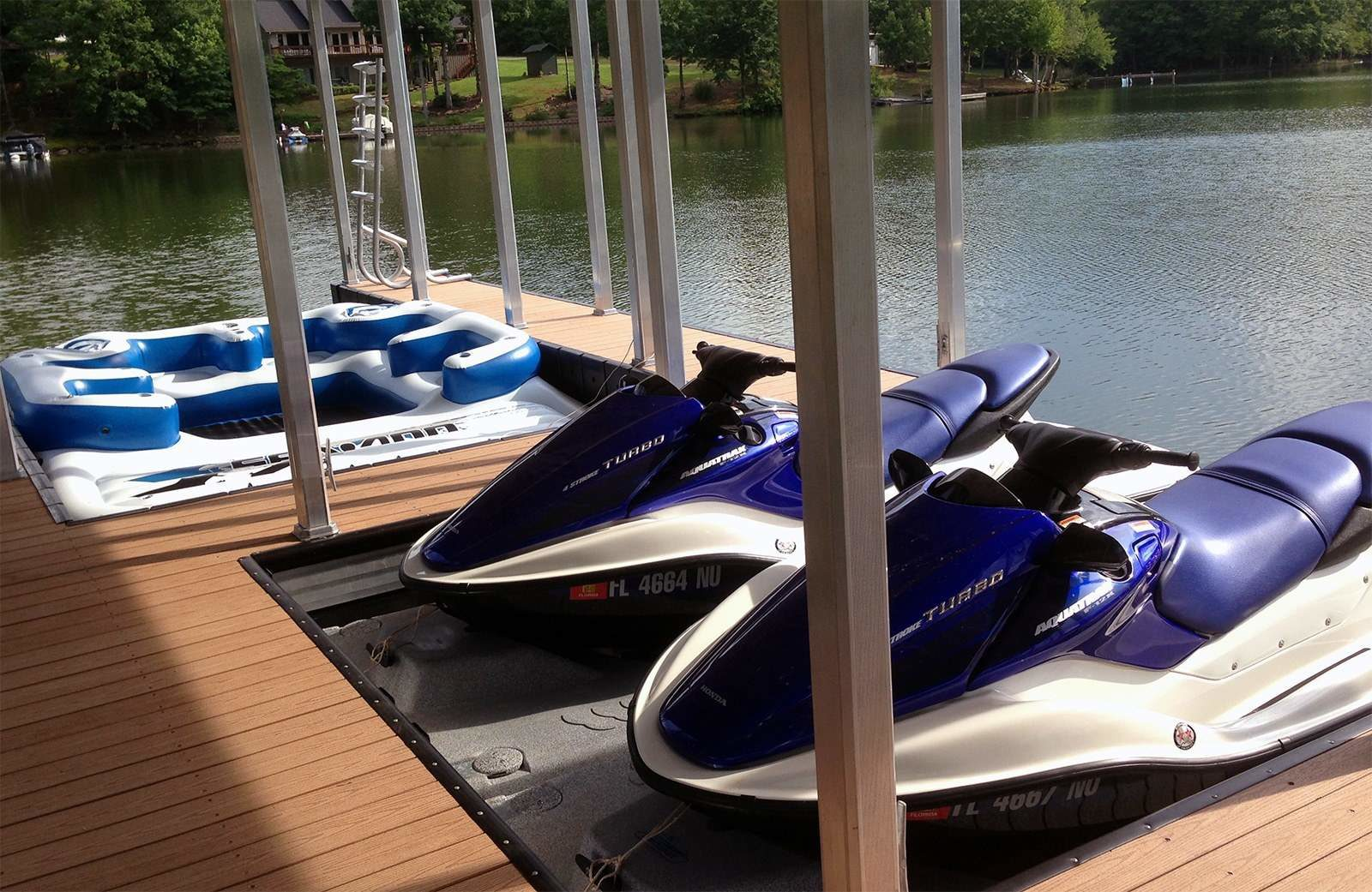 Wahoo Docks Jet Ski Lift