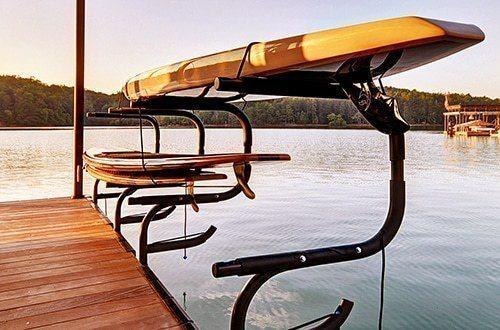 Kayak-Rack-for-Docks-Wahoo