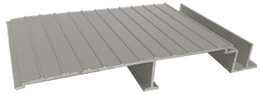 Wahoo Docks AridDek aluminum dock decking Granite