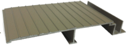 Wahoo Docks AridDek aluminum dock decking Artisan Clay