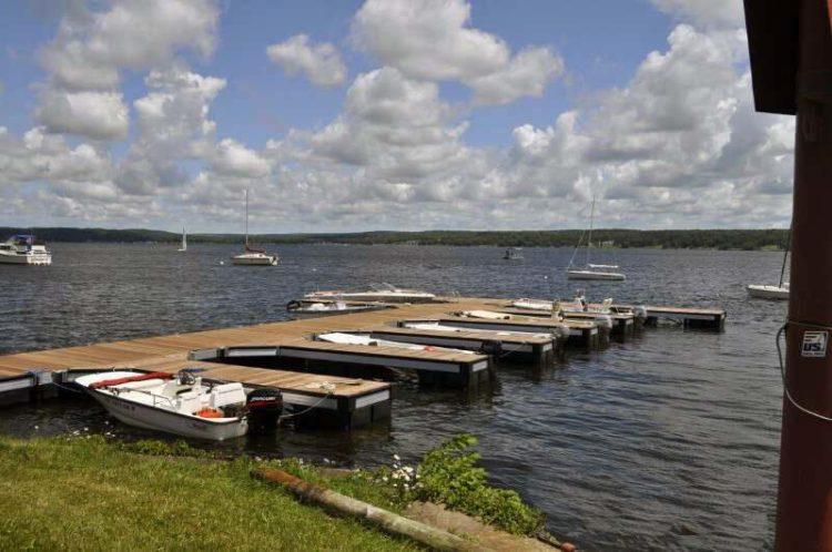 ED Specialty Chatagua Aluminum Dock