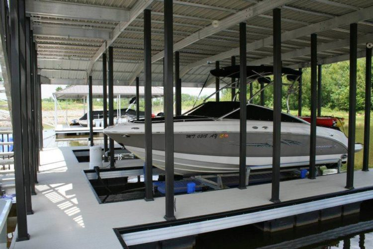 ED Wahoo Aluminum Docks Community Dock