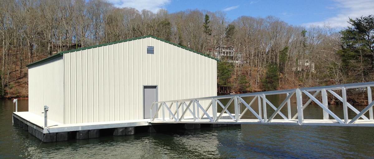 MAIN Floating Office Aluminum Construction