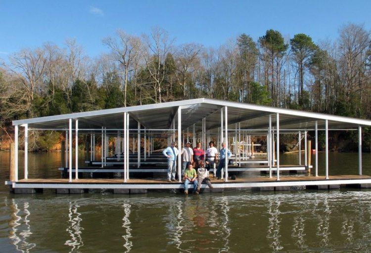 Wahoo Aluminum Docks Commercial Community Docks