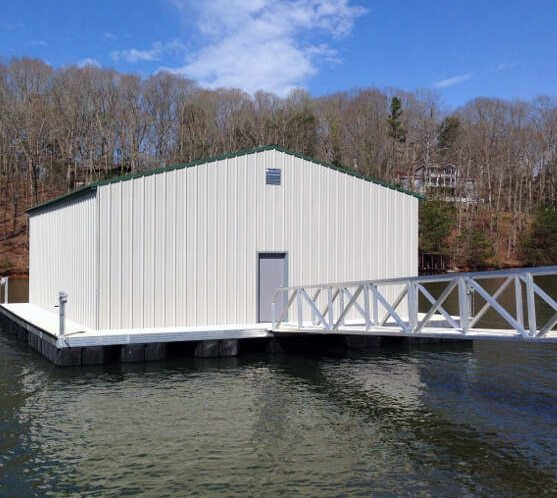 v Floating Office Aluminum Construction