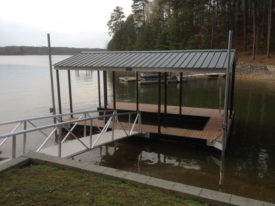 Wahoo Docks CAT 3 Floating Lake Dock