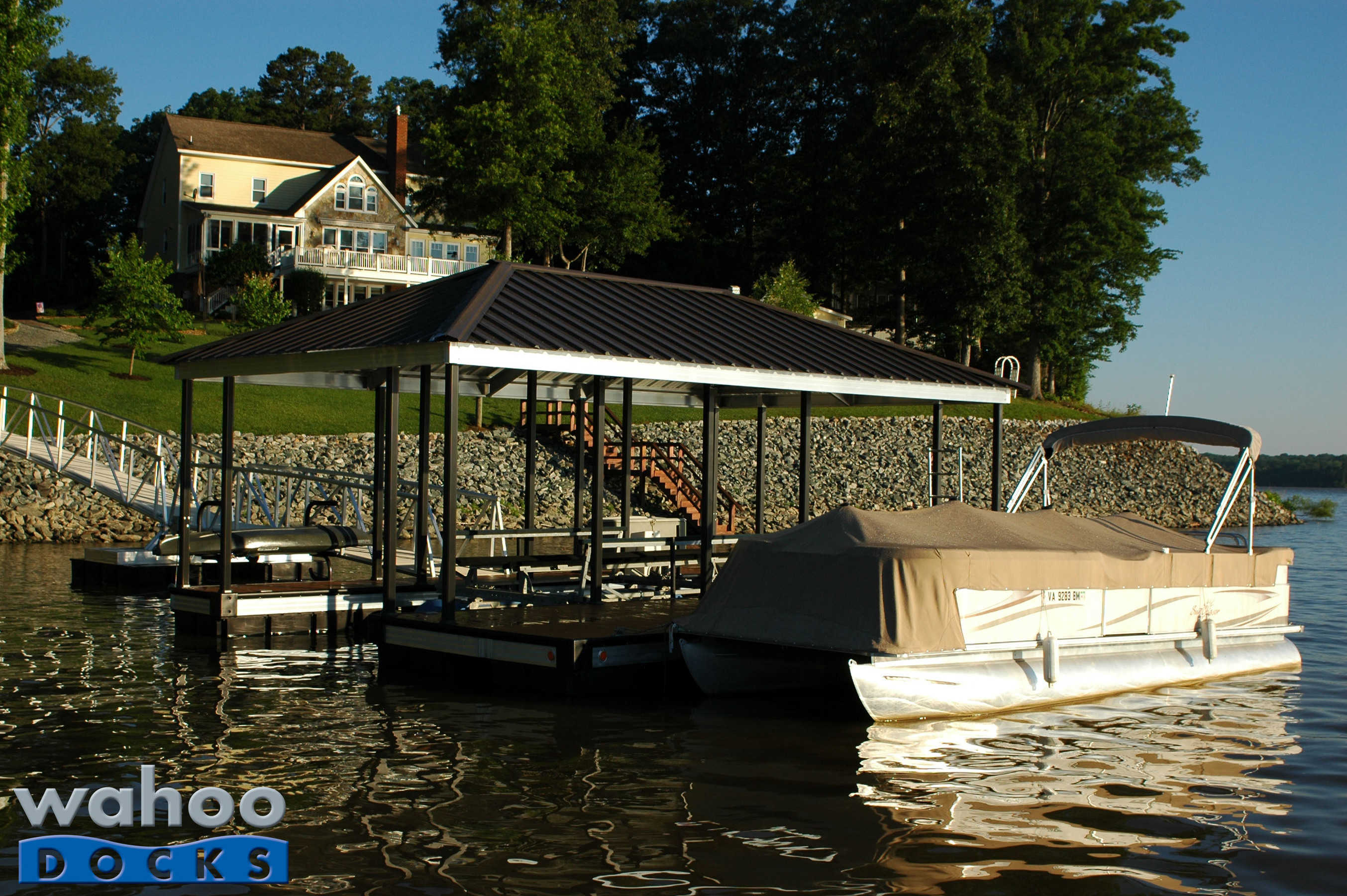 Boat Dock Of Month May 13 Garland Virginia Boat Docks